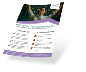 Download How Coaching Helps You Find Your Superpower from Sixense Strategy