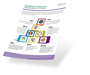 Download 7 Building Blocks for Business Success from Sixense Strategy
